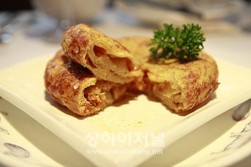 Tortilla de patatas con chorizo 60元