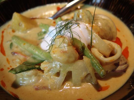 黄咖喱海鲜