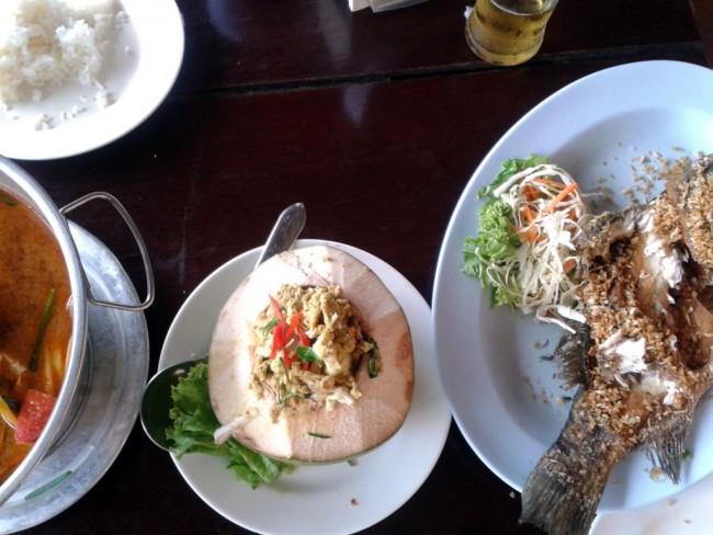 왕싸이 시푸드 요리