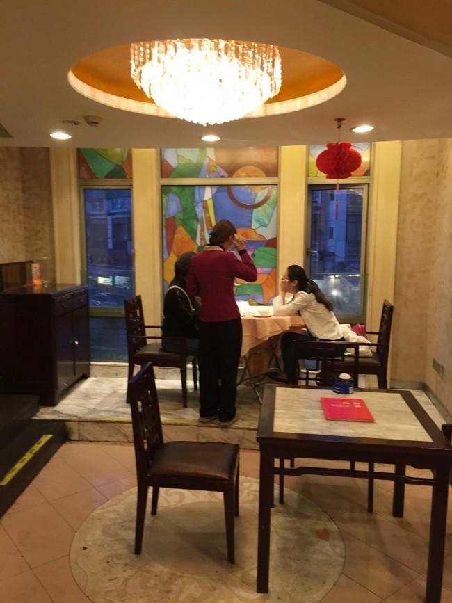 윈난루점 2층내부